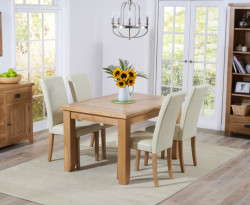 Original Country Oak Extenable Dining Table