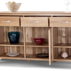 Cambridge Solid Oak Large Sideboard