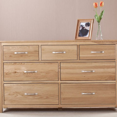 Cambridge Solid Oak 3+4 Drawers