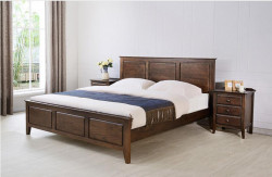 Washington Solid Oak Queens Size Bed Frame