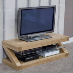 Zara Designer Oak Small TV Unit