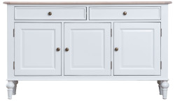 Ivy Brushed Oak and Painted Large Sideboard