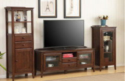 Washington Solid Oak Medium TV Unit
