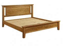 Original Country Oak King Size Bed