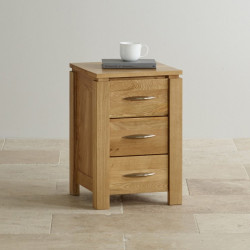 Osaka 3 Drawers Bedside Table
