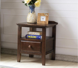 Washington Solid Oak Lamp Table