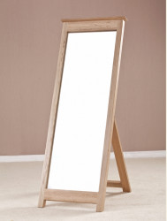 Cambridge Solid Oak Standing Mirror
