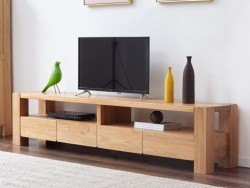 Cuba Oak Entertainment Unit