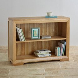 Chamfer Small Bookcase with Shelf