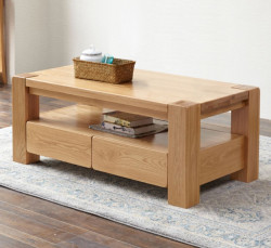 Cuba Oak Large Coffee Table