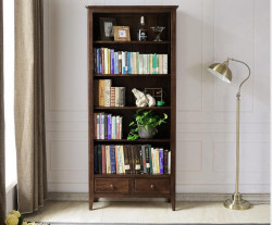 Washington Solid Oak Large Bookcase