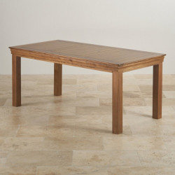 French Rustic Solid Oak 1.8M Dining Table