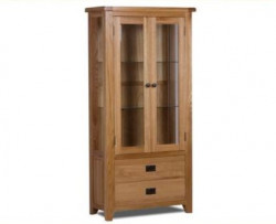 Original Country Oak Display Unit