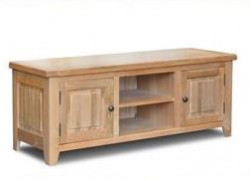 Original Country Oak Entertainment Unit