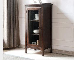 Washington Solid Oak Tall Sideboard
