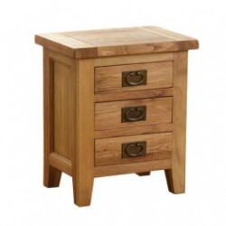 Original Country Oak Bedside Table