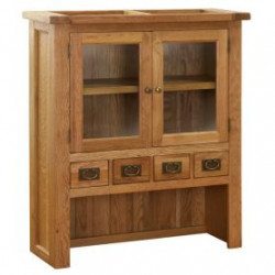 Original Country Small Buffet With Hutch Top